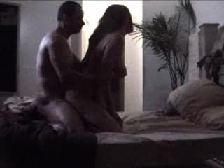 Black couple does it doggy style in bed