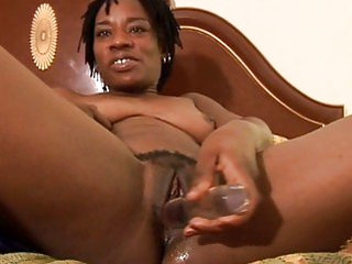 Sexy threatening MILF has a messy pussy