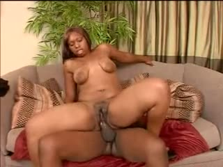 Fat black girl with a prudish pussy fucked unchanging
